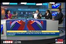 Watch: Aggressive Arindam Chaudhuri defends blocking of anti-IIPM URLs