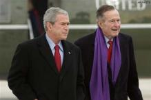 George HW Bush family emails, photos 'hacked'