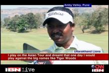I want to play with Tiger Woods: Shankar Das