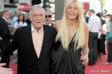 Crystal Harris married Hugh Hefner for security