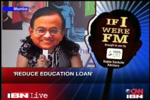 If I were FM: People demand lowering of interest rate on education loan this Budget