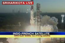 PSLV-C20 with Indo-French satellite launched