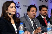 Celebrities at the IPL 2013 Player Auction
