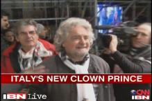 Italy elections: Ex-comedian Beppe Grillo could be surprise winner, say exit polls