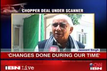 Jaswant Singh defends NDA's 2003 decision to change chopper deal norms
