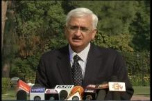 Khurshid to speak to Maldives government