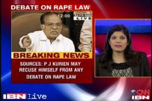 Kurien may rescue himself from debate on anti-rape ordinance: Sources