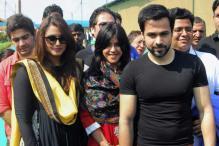 Snapshot: Preity, Emraan, Huma spotted at Kumbh