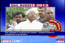 Rail budget 2013-14 move to make railways private: Lalu Prasad