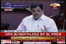 Uproar in Rajya Sabha over Sri Lankan war crimes