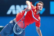 Cilic moves to 2nd round of US Indoor Championships