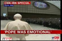 Emotional Pope holds last public mass in Rome