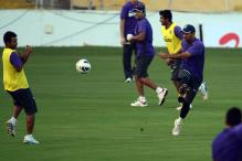 India practiced hard on second day of training camp