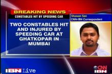 Mumbai: Two constables hit by speeding car
