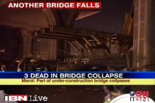 Mumbai: 3 arrested for under-construction bridge collapse