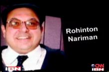 Solicitor General Rohinton F Nariman resigns