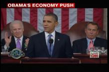 Barack Obama pushes for stronger economy, growth