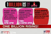 This Valentine's Day, many join One Billion Rising campaign