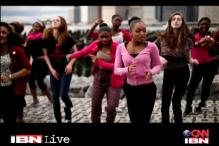 Strike, dance and rise: Watch the 'One Billion Rising' anthem