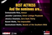 Oscar Watch: Nominations for the Best Actress