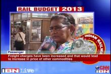 People in Kolkata not happy with Rail Budget 2013