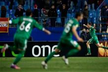 Rubin Kazan upset holders Atletico Madrid