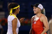 Sania combines with Bethanie to win Dubai doubles title