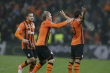 Dortmund held to a 2-2 draw by Shakhtar in the first leg