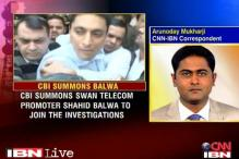 2G collusion: Shahid Balwa reaches CBI headquarters