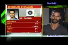 Shikhar Dhawan wants to make the most of India Test call-up