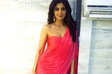 Fashion Watch: Shilpa Shetty's designer gown sari