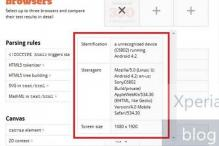 Sony C680X with 1080p screen running Android 4.2 leaks