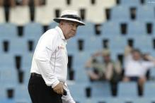 Pakistan against Hot Spot and umpire Steve Davis