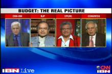 How do India's top politicians respond to Chidambaram's budget?
