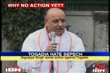 Digvijaya asks why delay in action against Togadia