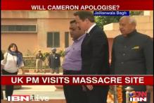 Cameron visits Jallianwala Bagh, calls it a shameful incident