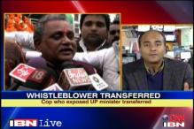 UP: Gonda SP who exposed SP minister transferred