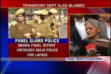 Delhi gangrape panel report says police at fault
