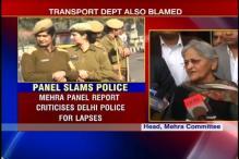 Delhi gangrape panel report says police at fault