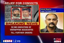 SC extends stay on execution of Veerappan's aides