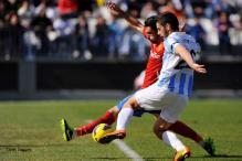 Malaga held to 1-1 home draw by Zaragoza