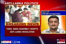 Tamil Nadu adopts resolution against Sri Lanka