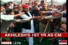 Akhilesh Yadav completes one year as UP CM