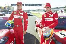 Ferrari celebrate strong season start