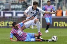 Inter Milan fight back to down Catania 3-2