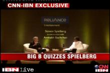 Watch: Amitabh Bachchan in conversation with Steven Spielberg