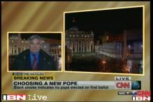 Black smoke from Sistine Chapel, no consensus on new Pope yet