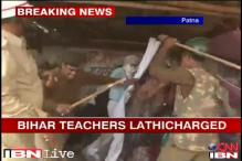 Bihar: Police lathicharge protesting contract teachers