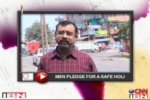 Citizen Journalist: Men pledge to play a safe Holi