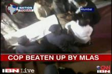 Two Maha MLAs who thrashed policeman granted bail